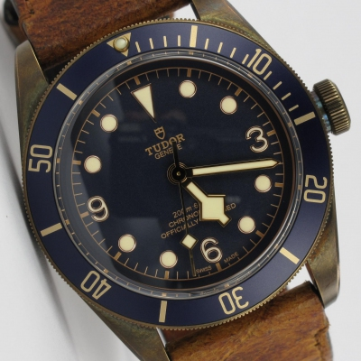 Tudor Heritage Black Bay Bronze Bucherer 79250BB