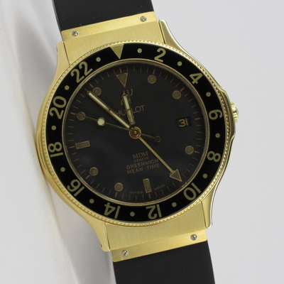 Hublot GMT Greenwich Mean Time 18K Gold