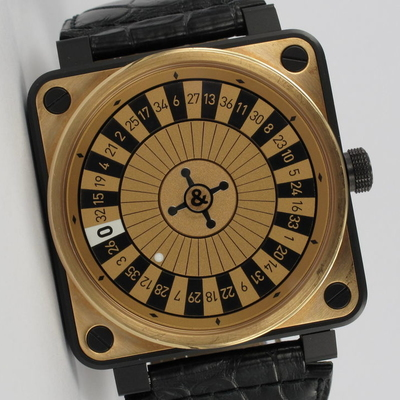 Bell & Ross Casino 18K Roségold / Stahl Limited Edition