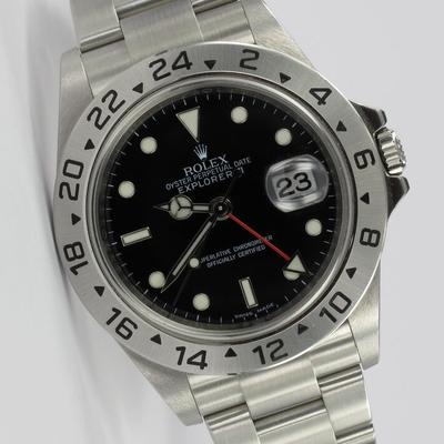 Rolex Explorer II Unpolished Cal. 3186 16570