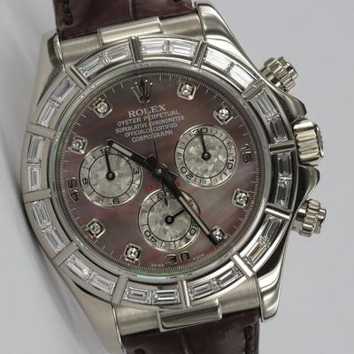 Rolex Daytona Weißgold Factory 116589