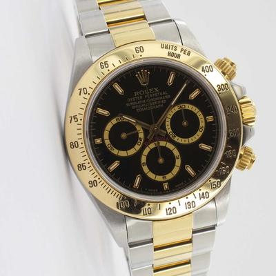 Rolex Daytona Zenith Stahl / Gold 16523