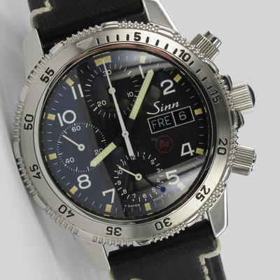 Sinn 203 Taucherchronograph Tritium