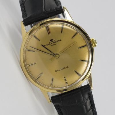 Baume & Mercier 18K Gold Automatik
