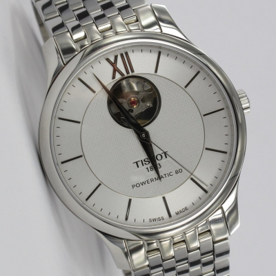 Tissot Tradition Powermatic 80 Open Heart Automatik