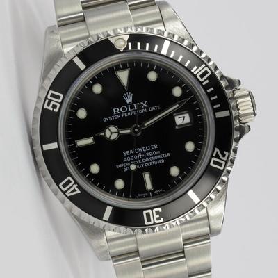 Rolex Sea-Dweller Full Set 16600
