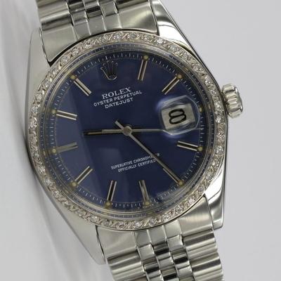 Rolex Datejust 36mm Diamant-Lünette 1600