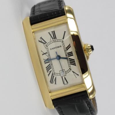 Cartier Tank Americaine 18K Gold
