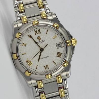 Concord Saratoga SL 35mm Stahl / Gold