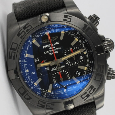 Breitling Chronomat 44 Blacksteel MB0111