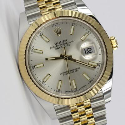 Rolex Datejust 41 Stahl / Gold 126333