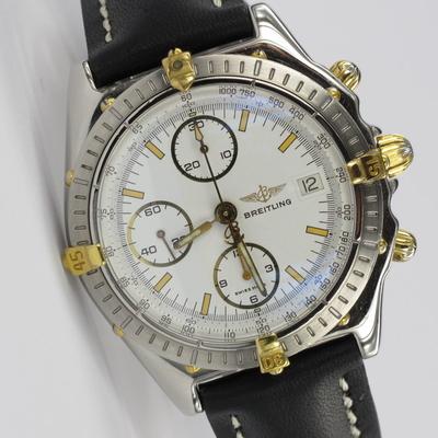 Breitling Chronomat Stahl / Gold B13050.1