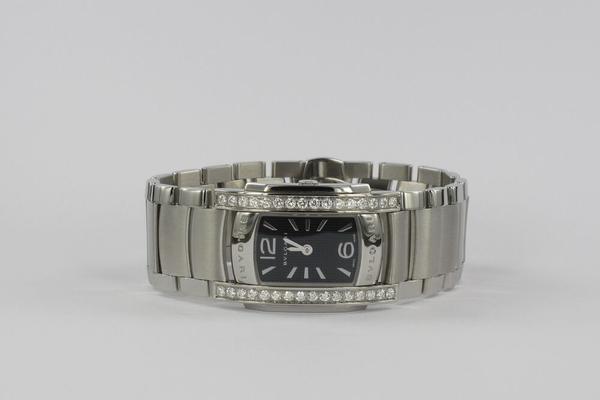 Bulgari Assioma Original Diamant-Besatz AA 35 S