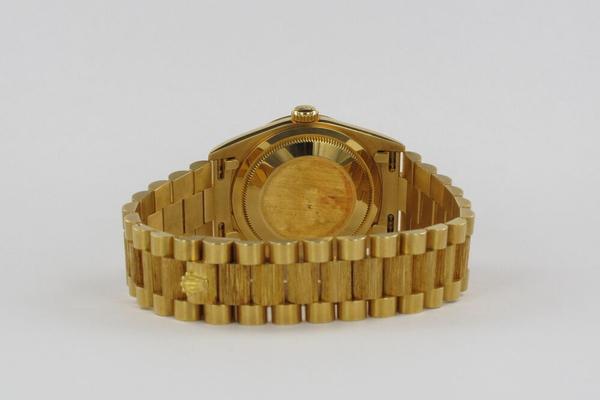 Rolex Day-Date 36 President Borke Unpolished 18248