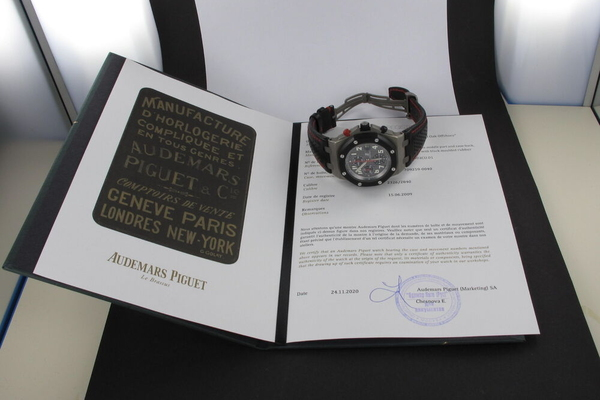 Audemars Piguet Royal Oak Offshore Gstaad Classic Limited Titan