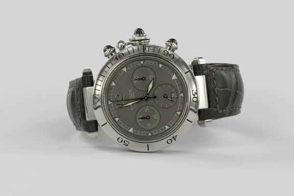 Cartier Pasha Chronograph Rare Dial