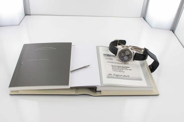 A. Lange & Söhne Datograph Perpetual 410.038