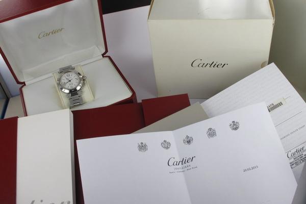 Cartier Pasha C Big Date Cartier Service 2015