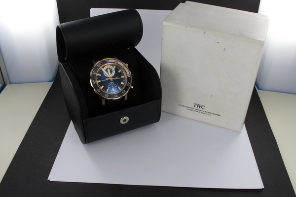 IWC Aquatimer Chronograph Roségold IW3769