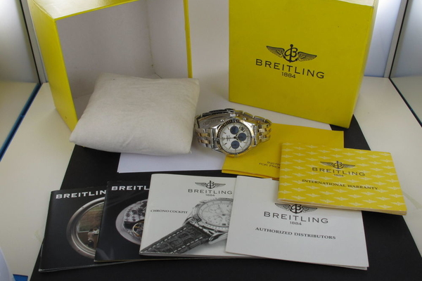 Breitling Cockpit Chronograph Mother of Pearl D30012